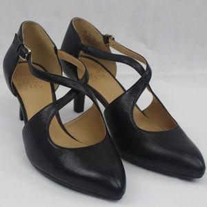 Naturalizer Okira Mid Heel Pumps Black 8W